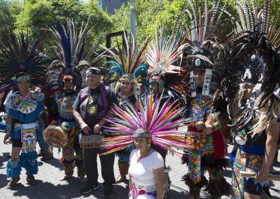 Aztec dancers ©Nancy Bleck Slanay Sp'ak'wus
