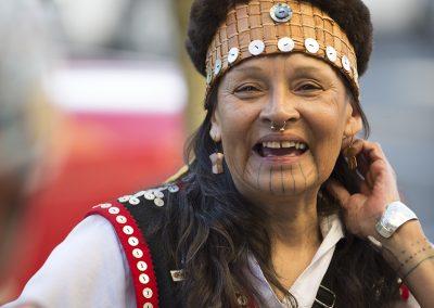 Tlingit woman, Portland ©Nancy Bleck Slanay Sp'ak'wus
