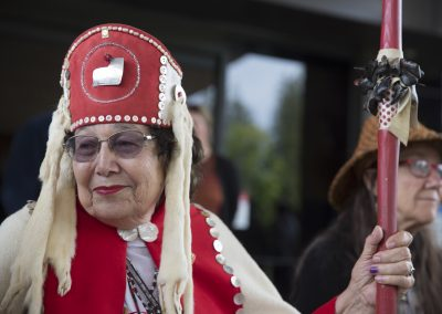 Tlingit Elder at Lummi ©Nancy Bleck Slanay Sp'ak'wus